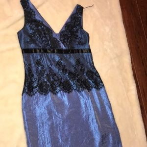 Shimmery midi party dress